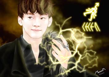 EXO - CHEN (Wallpaper) by Mom2maM