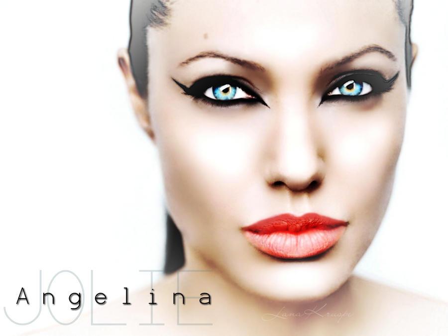 Angelina Jolie by LanaArts