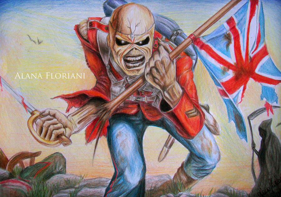 Iron Maiden Eddie Trooper