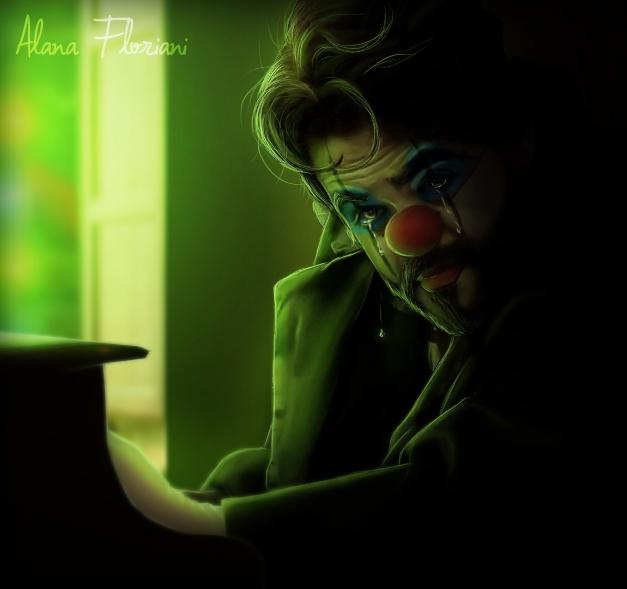 Tears Of A Clown by LanaArts