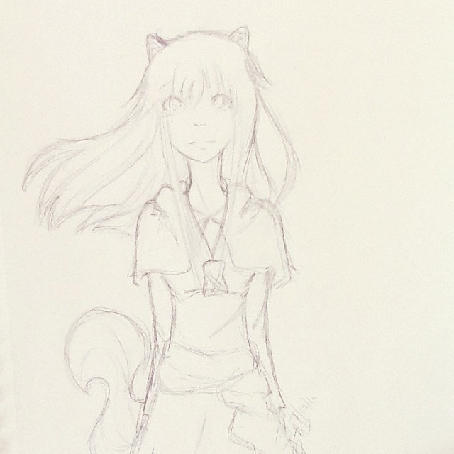 Holo by DistantAnimeDreamer