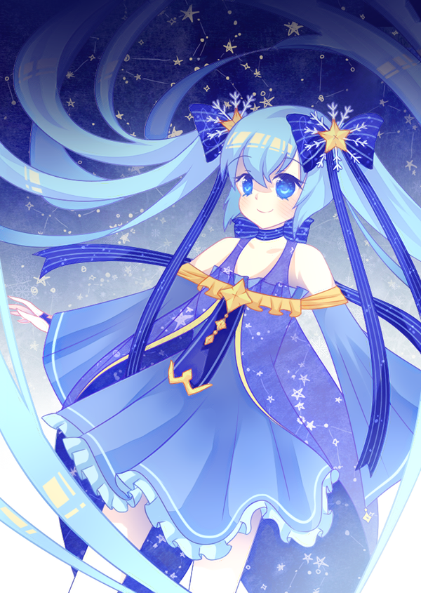 Snow Miku 2017 by lulla-dream