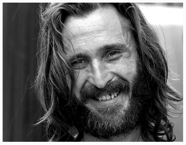 Homeless Man by daveant