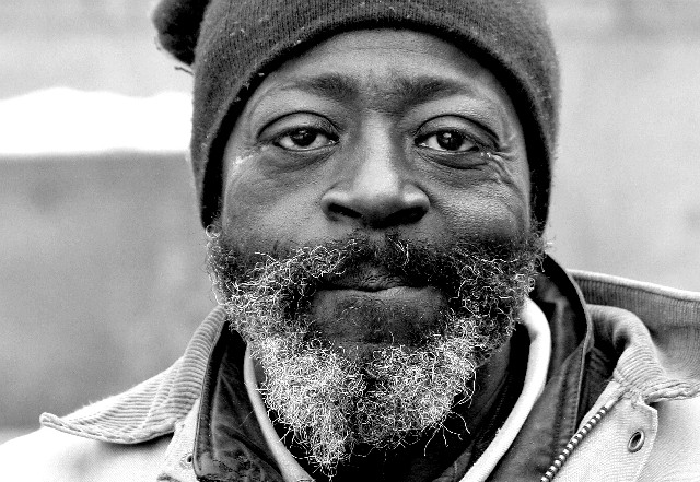 Homeless Man in Cleveland