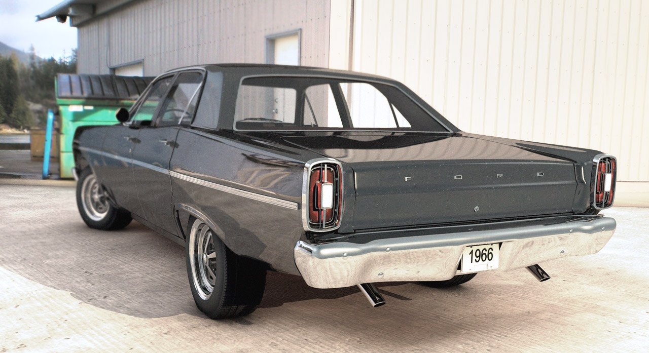 Ford Fairlane by parleee