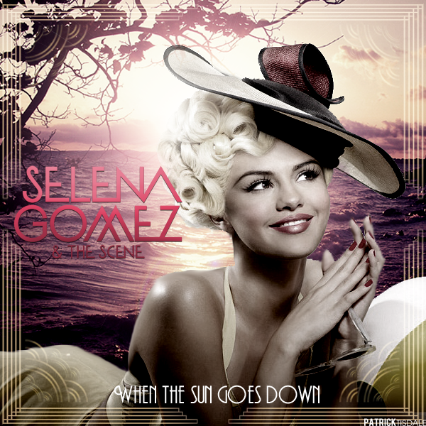 Selena Gomez - When the sun goes down. by JuaanR on DeviantArt