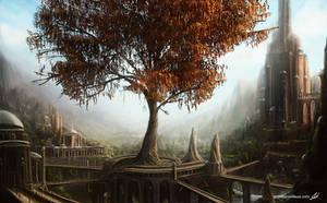 Red Tree by jessyv