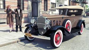 1932 Chevrolet Confederate 4-door Phaeton