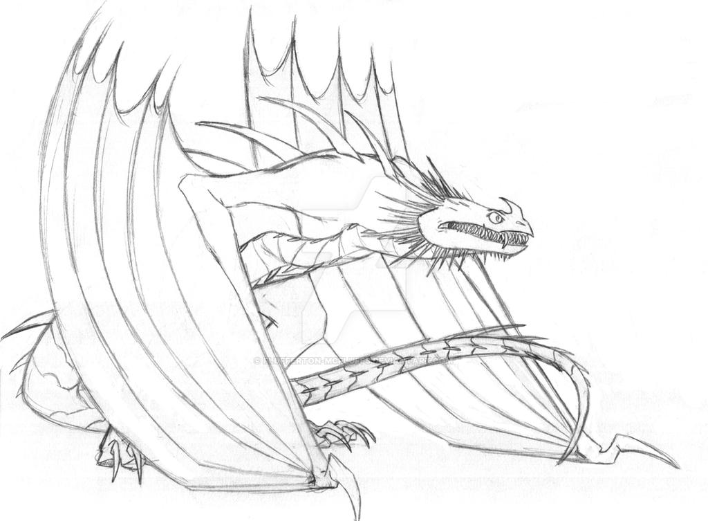 Skrill Sketch By Flufferton McFluffs