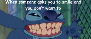 Lilo and Stitch Stitch Smile Meme