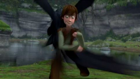 Never, ever EVER pause How to Train Your Dragon by moviememes