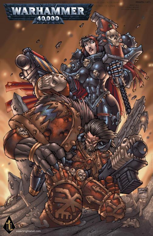 Warhammer 40k poster by LoganLee