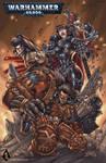 Warhammer 40k poster