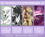 Stream Commissions Price Sheet