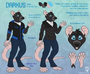 Com: Darkus Ref V2 by AlfaFilly