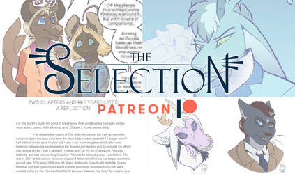 The Selection Patreon JUNE-JULY'19 (ART REQUESTS!)