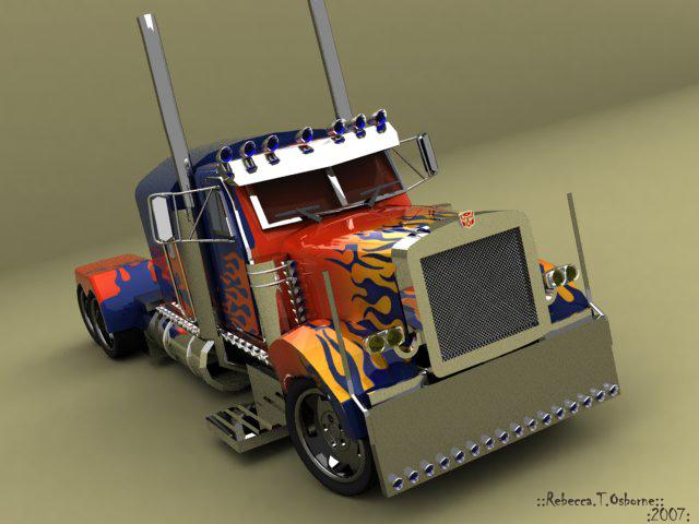 Transformers Otimus Prime by RainbowHoshi
