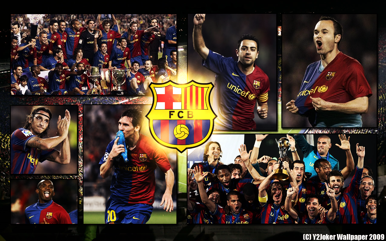 FC Barcelona - Season 2009 by Y2Joker