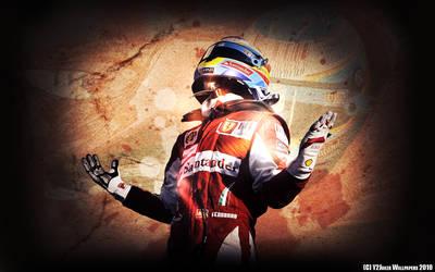 Fernando Alonso Wallpaper by Y2Joker