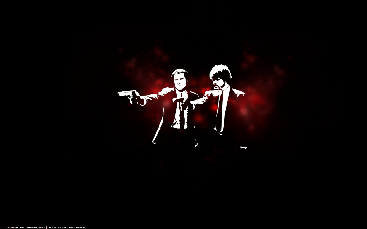 Bible Verse And Image Pulp Fiction Wallpaper: Pulp Fiction Wallpaper By Y2Joker On DeviantArt