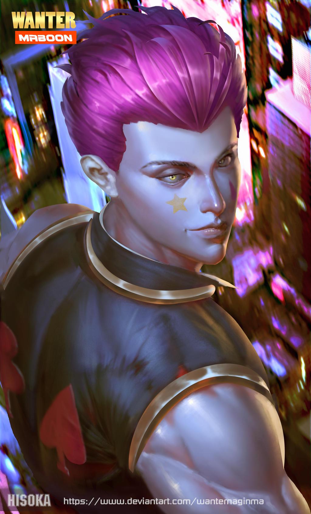 Fan Art Hisoka Hunter X Hunter By Boonmaa On Deviantart