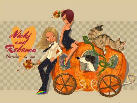November 16 Nicki and Rebecca wedding