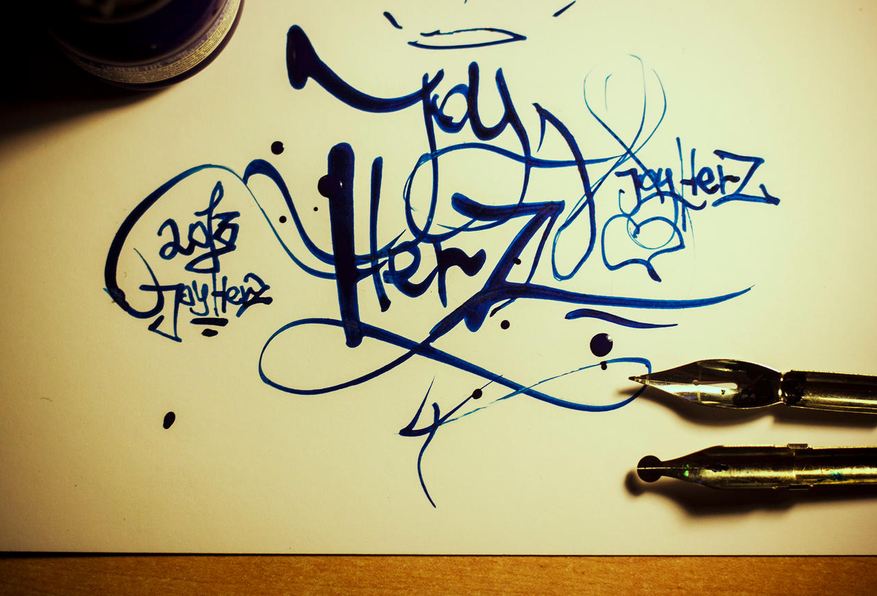 Joyherz lettering by Morday