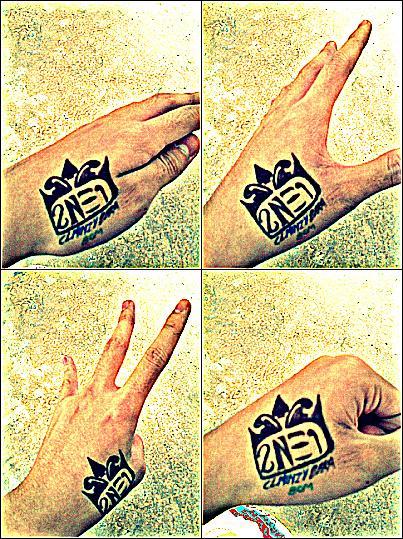 Tattoo blackjack