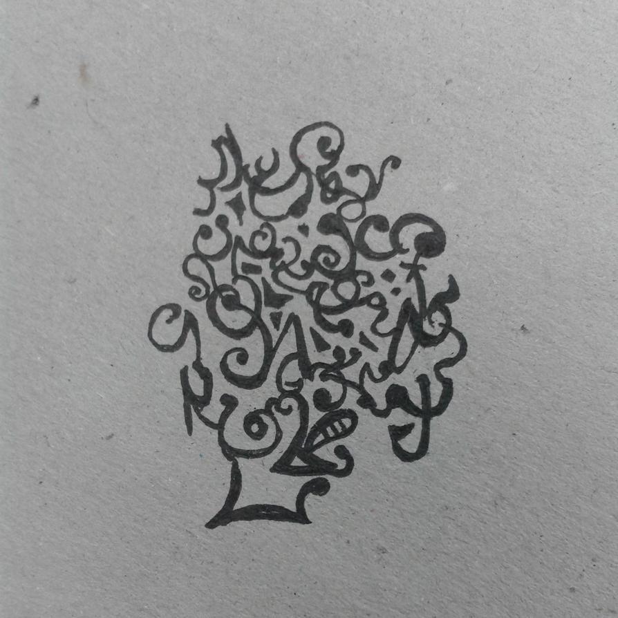 tree man by TamamoMae