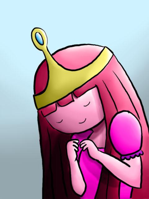 Princess Bubblegum by TamamoMae