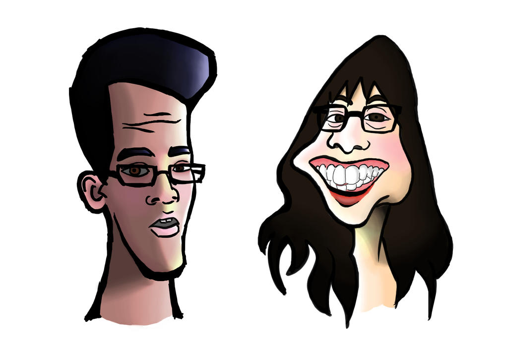 Caricature Exercise Final by TamamoMae