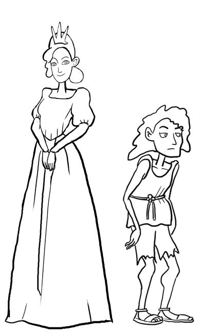 Princess and Jim by TamamoMae