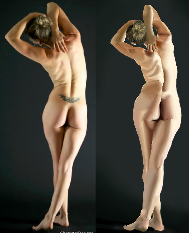 Skin study by TamamoMae