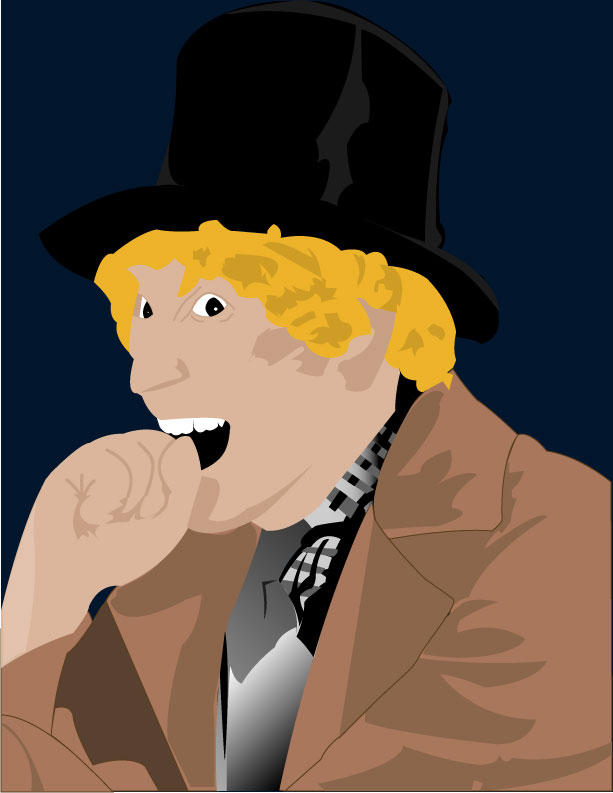 Harpo Marx Vector by therickhoward