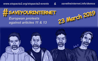 #Saveyourinternet 2.0 by JesikaPliskova