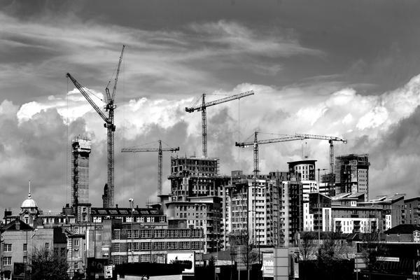 Manchester UK Skyline by NickGiles