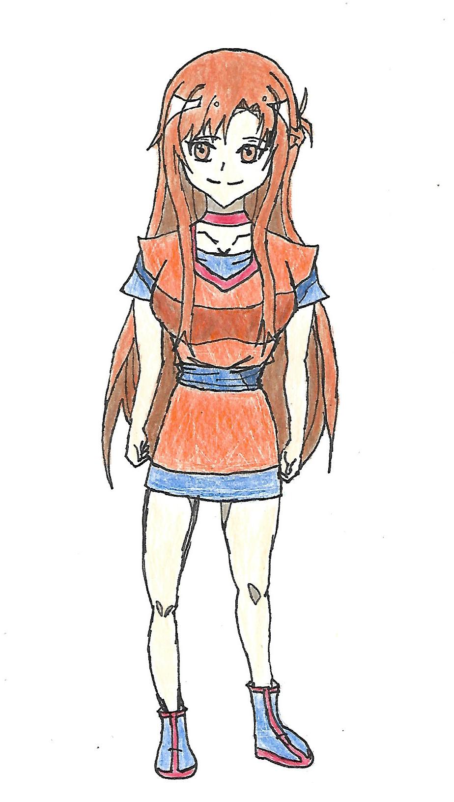 Asuna's Sword Art Online RP Clothes by spiralmaestro