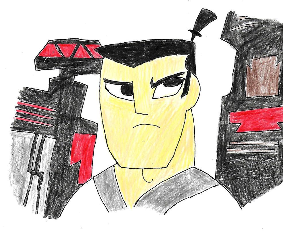 Samurai Jack by spiralmaestro