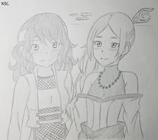 Manaka and Ikumi Haruno Commission