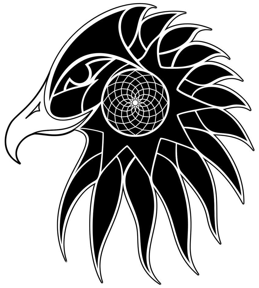 American Eagle Tribal Tattoo Designs