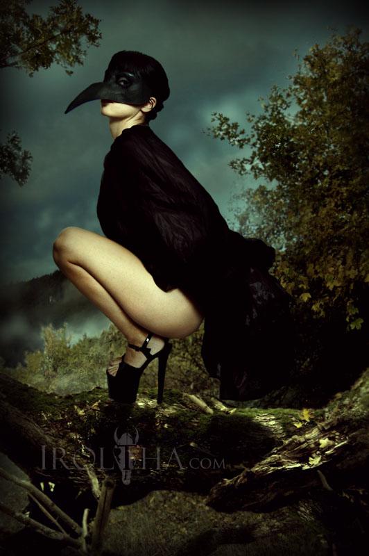 The Raven by Sharuzen