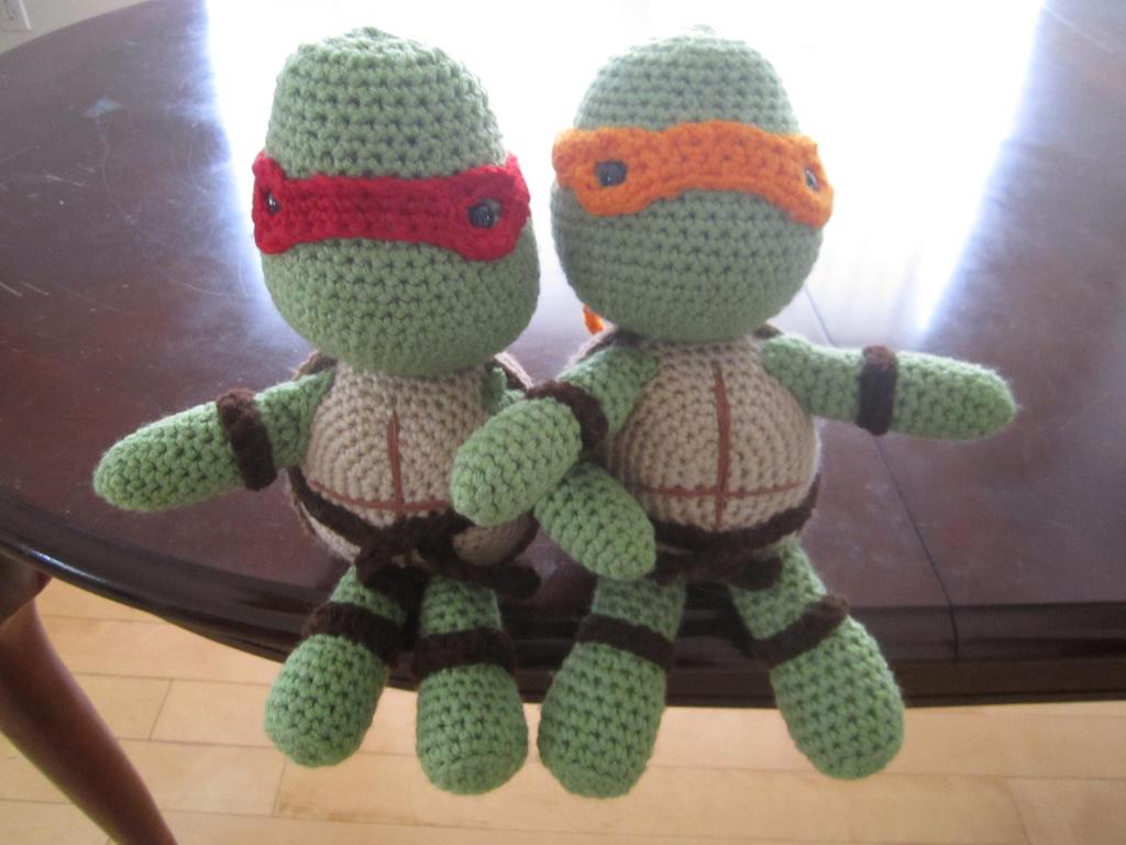 Crochet Ninja Turtle : Ninja Turtle Crochet Hat Pattern