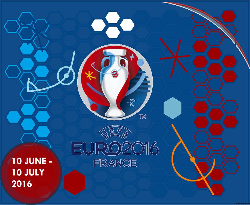 uefa euro 2016 logo by italianvolcano on deviantart. Black Bedroom Furniture Sets. Home Design Ideas