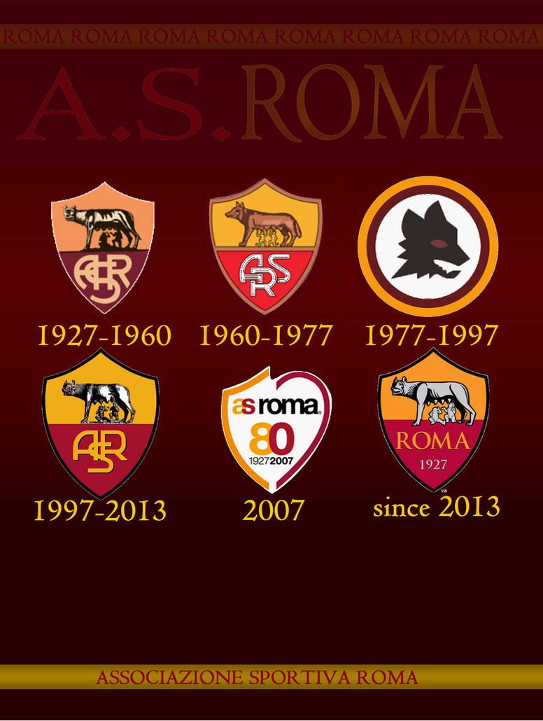 As Roma Logo History By Italianvolcano On Deviantart