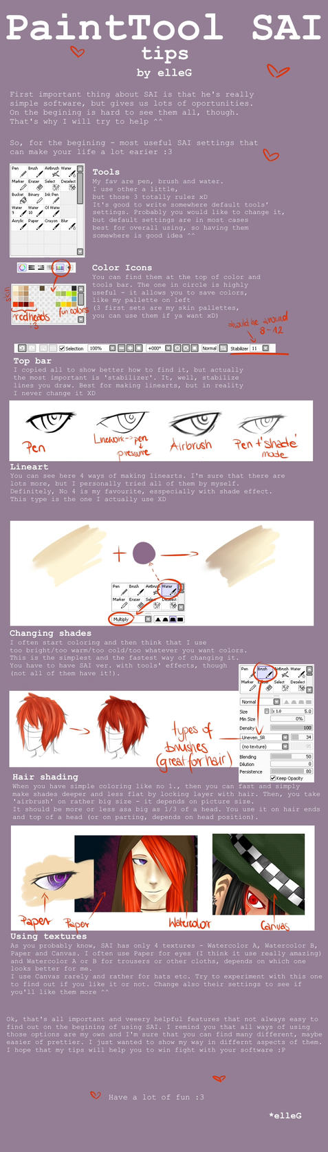 SAI tips by Little-Groove-Girl