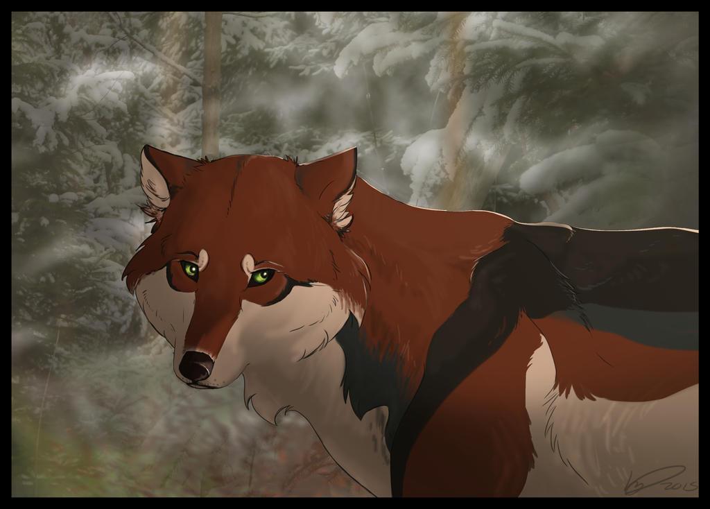 Green Eyes by KestrelRaptor