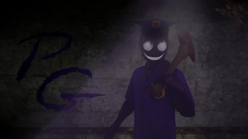 Purple Guy by monkamoni