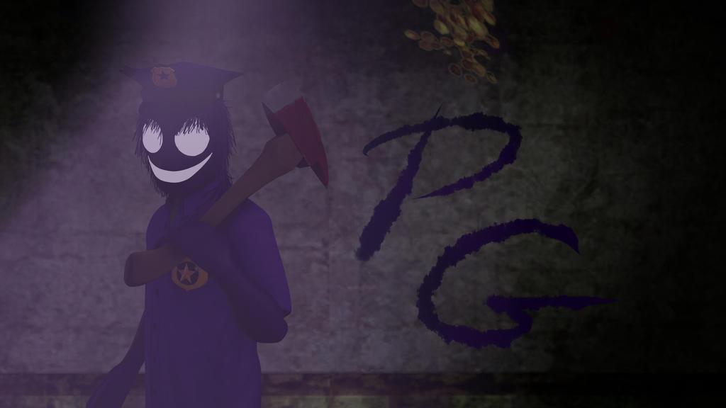 Purple Guy . by monkamoni