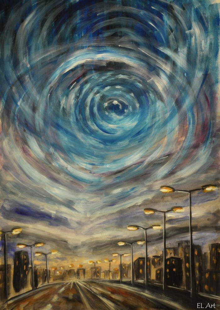 Street Lights 1 by ErynLuin