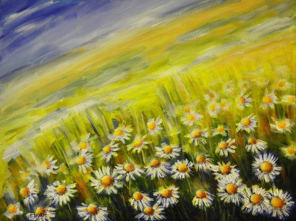 Daisy Field by ErynLuin
